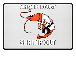 Shrimp Jitsu Mixed Martial Arts Fighter