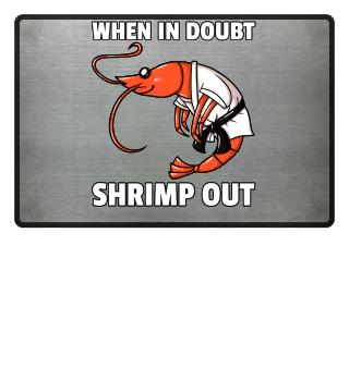 Shrimp Jitsu Mixed Martial Arts Fighter