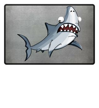 Hai! witziges Haifisch Design