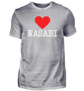 Heart WASABI | Love WASABI