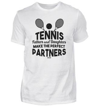 Tennis girls player's father