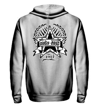 Herren Zip Hoodie Sweatshirt Dirty East Ramirez