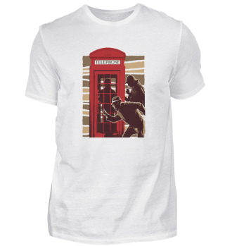 Detective phone booth
