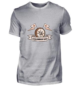 Christopher Columbus Day Kompass Wasser