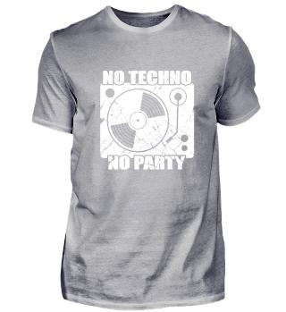 No Techno No Party