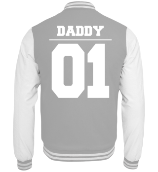 Vater Tochter Daddy 01 Collegejacke