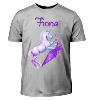 Einschulung Fiona