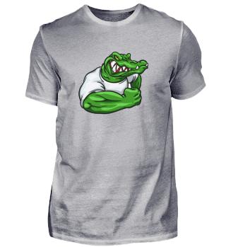 Wütendes Krokodil