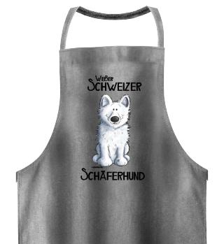 Weißer Schweizer Schäferhund I Hund