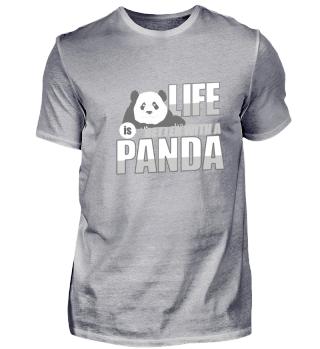 Das Leben ist besser mit einem Panda