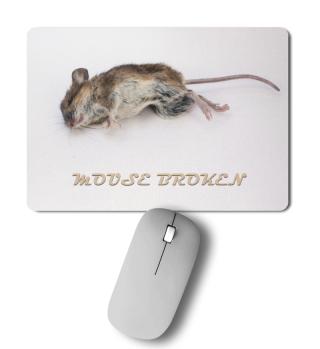 Maus kaputt
