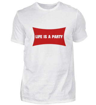 LIFE IS A PARTY Nr. 1 (r)