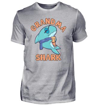 Grandma Shark alt Rente Großmutter Hai