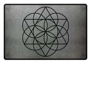 Blume Des Lebens - David Stern - schwarz