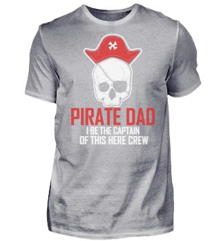 Vater Papa Dad Kapitän Pirat