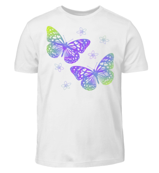 Schmetterlinge zum Ausmalen II - bunt