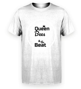 Queen Bees Pr. Organic Herren Shirt schw