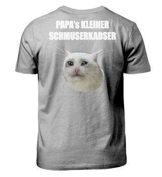 PAPA's KLEINER SCHMUSERKADSER | white