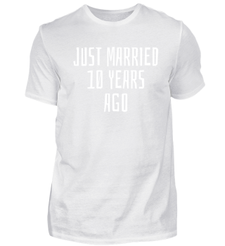Just Married 10 years
