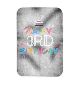 Happy Birthday 3rd birthday