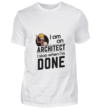 D001-0108B Proud Architect Architekt - I