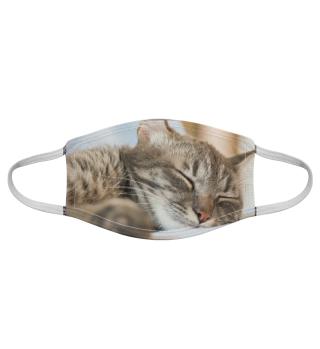 Gesichtsmaske mit Katzenmotiv 20.29
