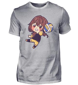 Mädchen Frau Kind Volleyball Sport