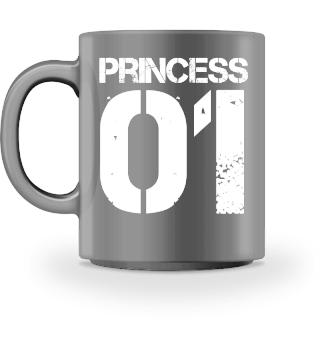 Tochter Princess Geschenk Tasse