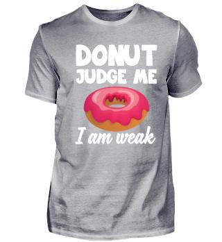 Donut Dessert Liebhaber Geschenk