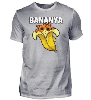 Cat Banana Bananya Kitten Pet