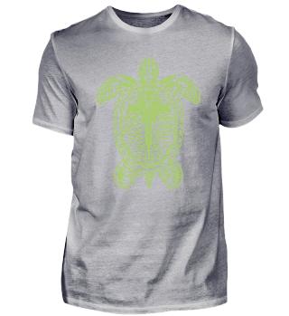 Schildkröte Tribal Geschenk