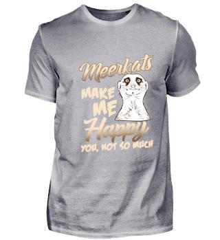 Meerkat Happy Love Geschenkidee Geschenk