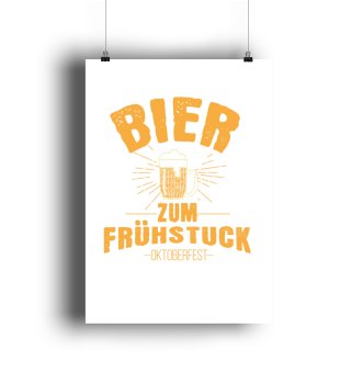 Oktoberfest beer for breakfast