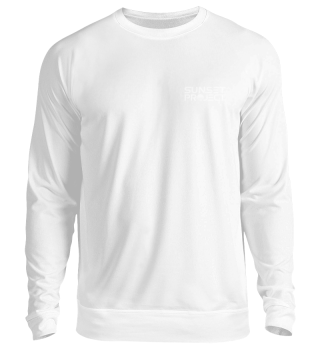 Unisex Sweatshirt mit weißem Logo