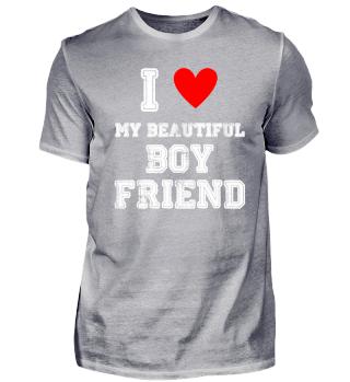 Ich liebe meinen schönen Freund Beautifu