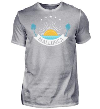 Mallorca Malle T-Shirt Sonnenuntergang 2