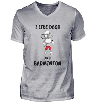 Badminton Sporthund saying gift