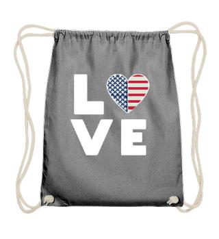 I love LOVE USA America United States of