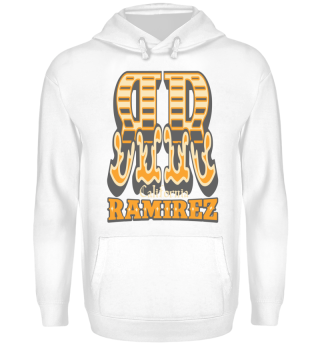 Herren Hoodie Sweatshirt RR Ramirez