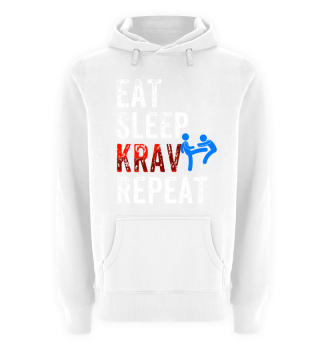 Eat,Sleep,Krav, Repeat Hoodie