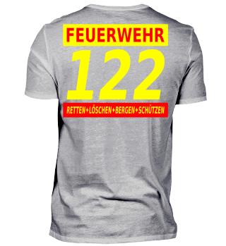 122 Feuerwehr Österreich (rot)