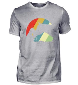 Pferdemädchen Vintage Design Tshirt