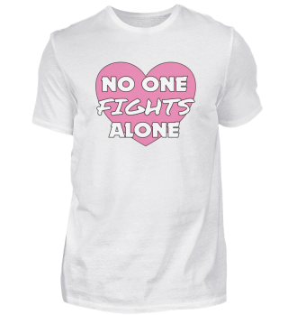 No One Fights Alone Cancer Heart