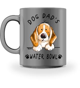 Beagle Dog Dad's Water Bowl I Mug