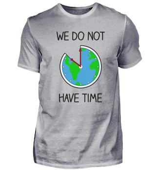 Fridays For Future - Welt als Uhr