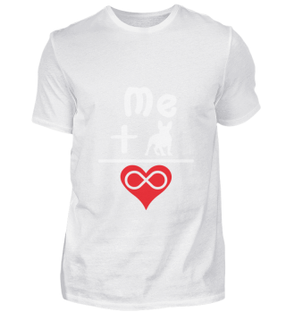 Hund Mops Love Design Geschenk