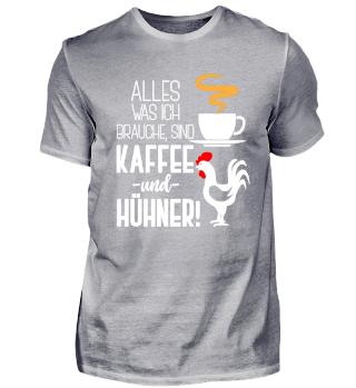 Kaffee und Hühner für Landwirte
