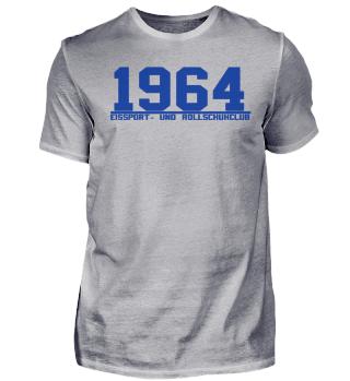 1964 - Schriftzug [Blau - T-Shirt]
