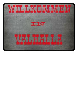 Willkommen in Valhalla, Fußmatte