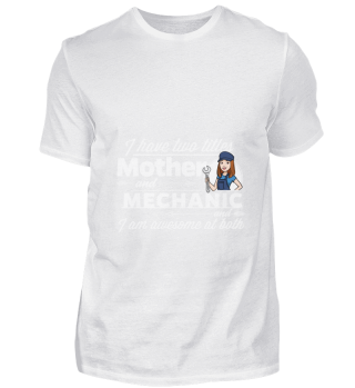 D001-0483A Female Mechanic Handwerkerin